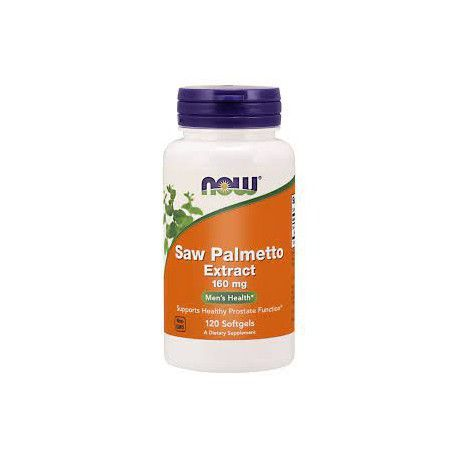 Saw palmetto 6,3:1 extract, 160 mg, 120 softgels